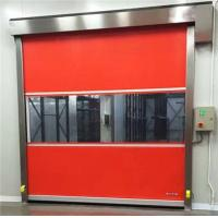 China Manual Remote Control High Speed Roller Shutter Doors Wind Resistance on sale