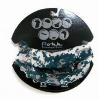 Quality Multifunctional Bandana with Strong Stretchy and Seamless , Made of 100% Polyester Microfiber wholesale