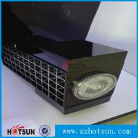Cheap High clear customized acrylic spinning lipstick holder rotatable makeup organizer for sale