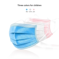Quality Surgical Earloops Kids 3 Layers Disposable Face Mask wholesale