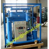 Quality Low Price Single Stage Small Transformer Oil Purier,Portable Insulation Oil Filter Machine wholesale
