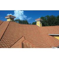 High Performance Wave / Double Roman Roofing Tiles For Decoration