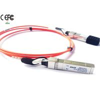 Quality Fiber Cable 10G SFP+ AOC Cable Cisco SFP-10G-AOC1M 850nm Wavelength wholesale