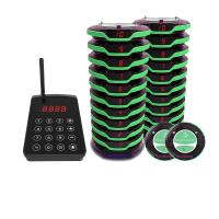 Quality waterproof wireless restaurant food ready guest paging system wholesale