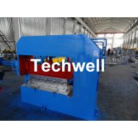 Quality Hydraulic Arch Roof Bending Machine , Roofing Sheet Making Machine High Speed wholesale
