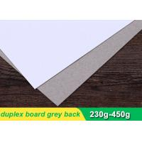 China 250gsm Duplex Paper Board Sheets For Printing Industry 787 * 1092mm on sale