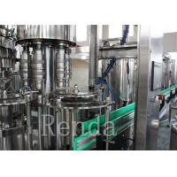 Quality CO2 Drinks Water Carbonated Drink  Filling Machine With Washing / Filling / Capping wholesale