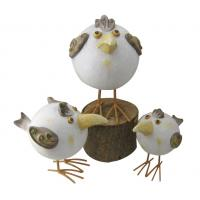 Quality Handcrafted Garden Sculptures And Ornaments , Chicken Garden Ornaments wholesale