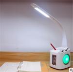 Quality LED Desk lamp calendar, temperature display, bedside lighting, study, reading for children wholesale
