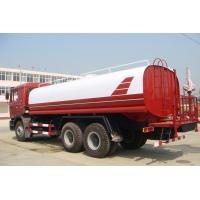Quality Sinotruk ISO CCC Liquid Tanker Truck , Water Truck Tanks Green Water Carrying 15 - 25CBM wholesale