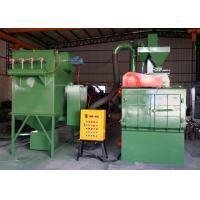 Buy cheap Rubber Belt Barrel Shot Peening Machine For Small Metal Casting 220V product