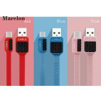 Cheap V8 Micro USB Data Cable , Android Charging Cable Environmental Silicone Wire for sale