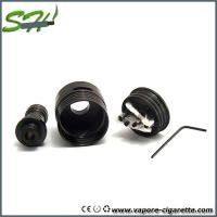 China Mini Black Helio rda rebuildable dripping atomizer Stainless Steel 510 Style on sale