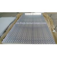 Quality Five bar aluminum checker plate for anti-slip wholesale