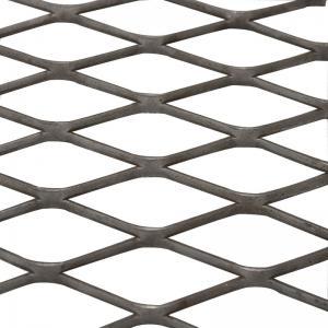Quality 4ftX8ft Flatten Low Carbon Steel Expanded Wire Mesh Diamond Shape wholesale