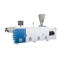 China PVC Sheet Pipe Parallel Twin Screw Extruder on sale
