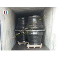 Quality 1150H Super Cone Black Boat Fenders SBR For Harbor , ISO9001 wholesale