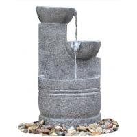 Quality Granite Color 3 Tier Outdoor Water Fountains CE / GS / TUV / UL Approved wholesale