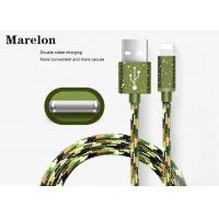 Cheap Camouflage Color USB Charging Cable Aluminum Housing Support Charge And Sync for sale