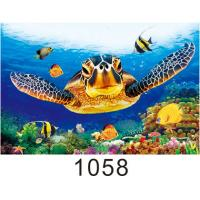Quality High Definition 3D Lenticular Pictures Gloss Or Matte Varnish Surface wholesale