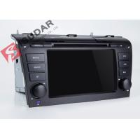 Quality Mazda 3 Touch Screen Head Unit , Wifi Modem Android Gps Car Stereo With Mirrorlink Technology wholesale