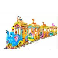 Quality Electric Kiddie Rides Machine Train Track Play Equipment Animal Electrical Kids Train wholesale