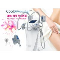 4 Handles Cryo Fat Freezing Machine Equipped With Self Cleaning System