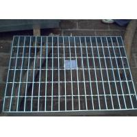 Quality Galvanized Steel Grating Drain Cover With Angle Frame Urban Road / Square Suit wholesale