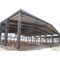 Quality Low price galvanized steel structure prefabricated warehouse with frame use life 50 years wholesale
