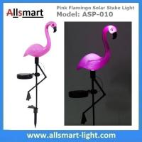Buy cheap Pink Flamingo Solar Stake Light Solar Garden Decor Lights Solar Path Lights from wholesalers