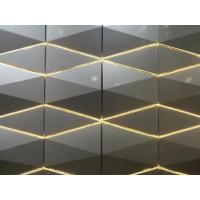 Quality 3D Sharp RAL / PANTON Color Aluminum Panel Curtain Wall 4*0.5mm Thickness / Composite Building Materials wholesale