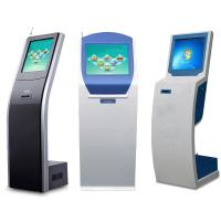 Cheap 17 inch Bank Queue Management Touch Screen Ticket Dispenser Kiosk for sale