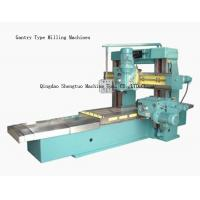 Quality Green Heavy Duty High Accuracy Gantry Planer Type Milling Machine , Moving Beam wholesale