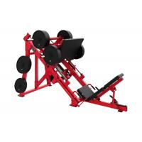 Quality 45° Linear Hammer Strength Leg Machines Indoor Plate Loaded Wear Resistant wholesale