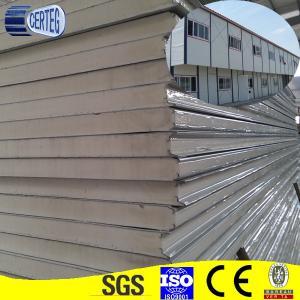 China foam sandwich wall panels metal fire on sale
