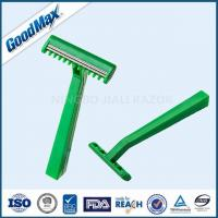 Quality Extremely Sharp Medical Razor Disposable Single Blade Medical Razor Green Color wholesale