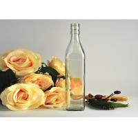 Quality Square Wine Empty Whisky Glass Bottles Container Recyclable Clear wholesale