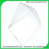 China Paper mill in India grey board for book binding paper and paper board on sale