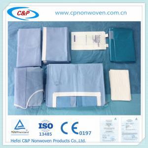 China sterile abdominal surgery operating room Laparotomy drape pack on sale