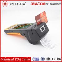 Quality Smart Card Mobile Rfid Reader Biometric Android Fingerprint Scanner Printer wholesale
