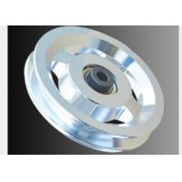 Quality Alloy Material Multi Gym Pulley Wheels , Fitness Equipment Parts Color Optional wholesale