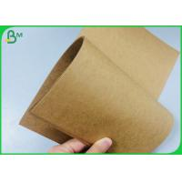 Quality 135g 170g 250g Recycled Brown Kraft Paper Reel For Gift Carton Box wholesale