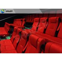 Quality Film Projector 3D Cinema System With Plastic Cloth Cover Chair 100 People wholesale