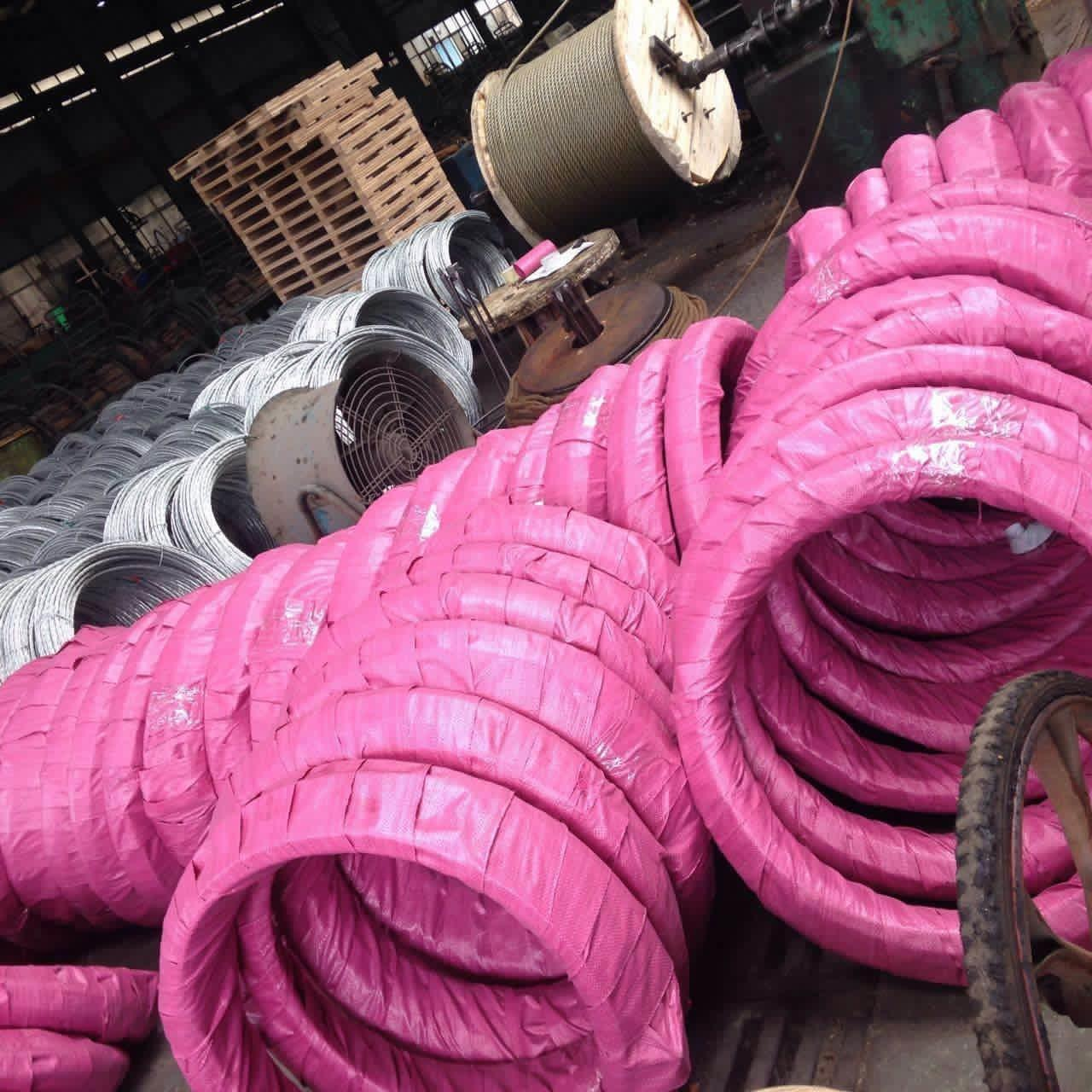 Buy cheap Zinc - Coated Galvanized Steel Core Wire For Aluminum Conductors / Steel Reinforced from wholesalers