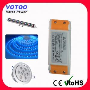 Quality AC DC Power Supply Constant Voltage LED Driver 12V 15W 50Hz / 60Hz wholesale