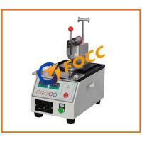 China Pneumatically-Controlled Fiber Optic Polishing Machine For Connectors End Faces on sale