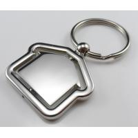 Quality cheap fashion house shaped keychain manufacturer supplier China wholesale