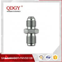 Quality STAINLESS STEEL MATERIAL  BLEED NIPPLE FITTING MALE TO MALE ADAPTER M10 X 1.00 TO M10 X 1.25 wholesale