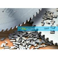 Buy cheap Stainless Steel / Wood Carbide Saw Tips Customized Tungsten Saw Tips from wholesalers