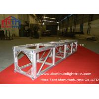 Quality Electronic Hoist Circular Lighting Truss System Silver Aluminum 3mm Tube Thickness wholesale